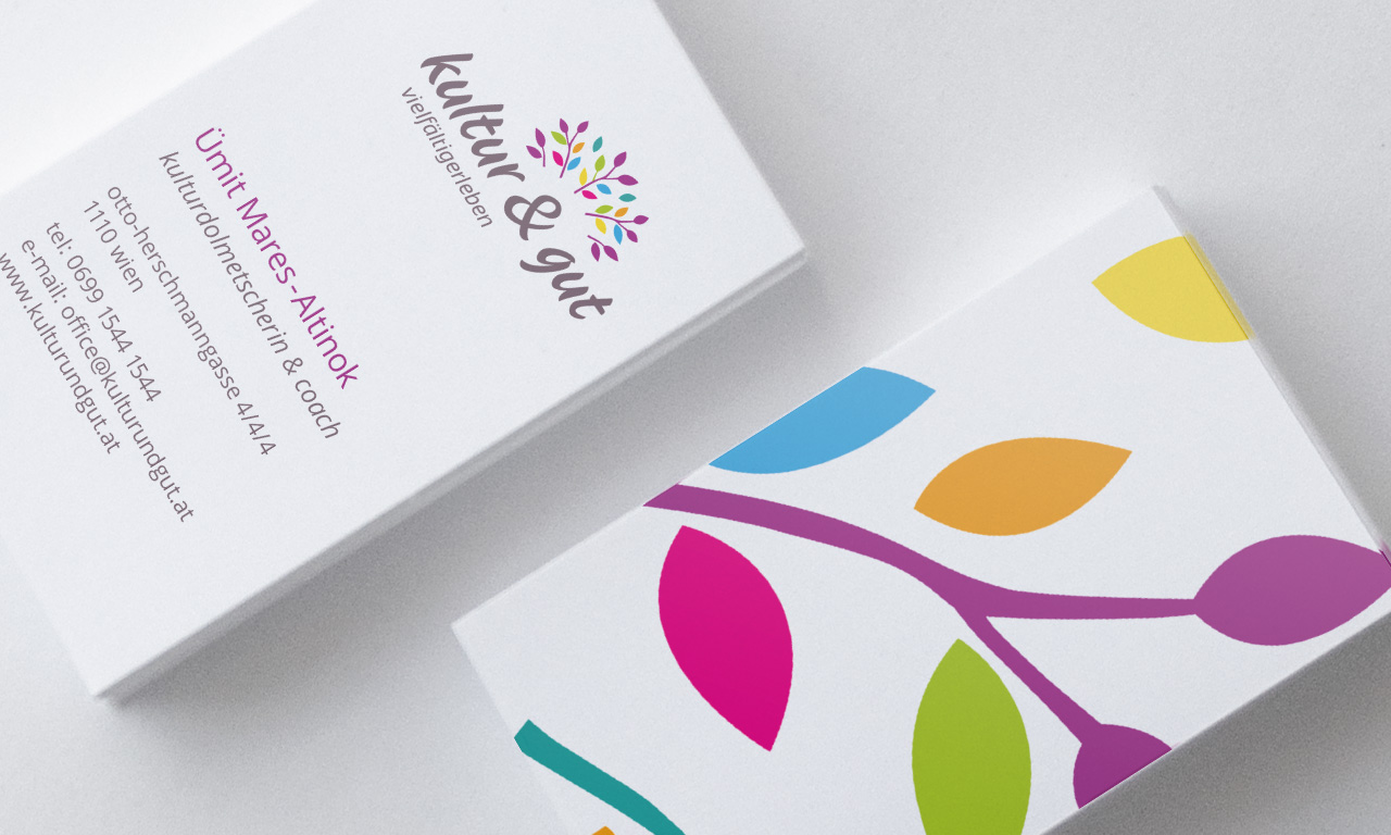 kultur&gut-Visitenkarten