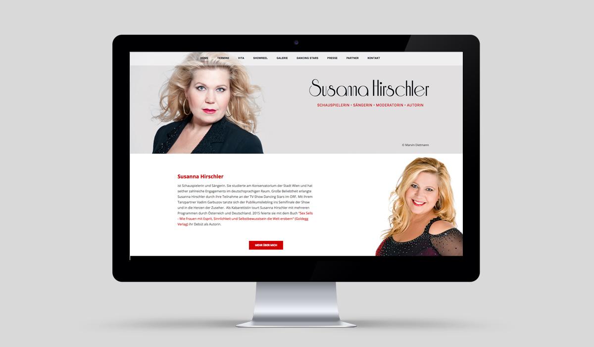 Susanna Hirschler - Screendesign