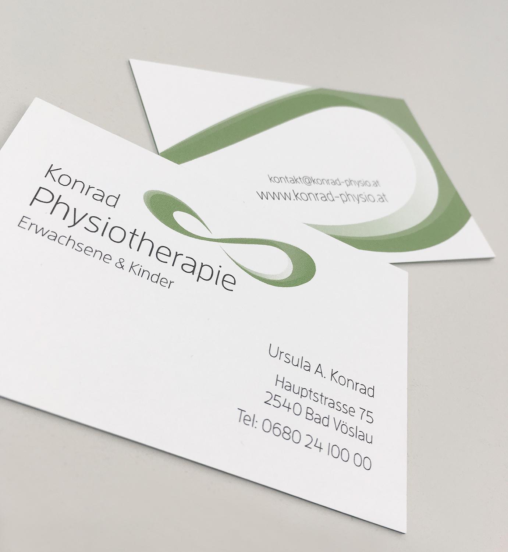 Konrad - Physio - Business Cards