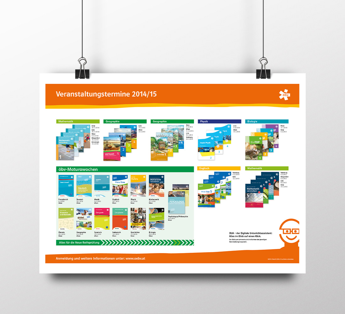 öbv Österreichischer Schulbuchverlag - Plakat